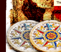 Compass Rose Geocoin 10