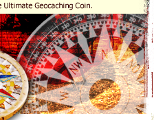 Compass Rose Geocoin 11
