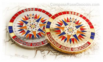 2006 Compass Rose Geocoin