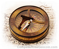 Rose on Compass Rose History