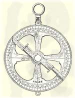 Mariner's Astrolabe Diagram