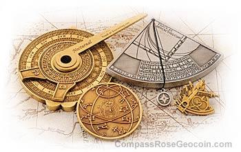 Navigation coins